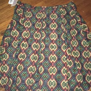 3x LuLaRoe Madison Skirt
